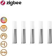 Osram Smart+ Gardenpole Mini RGBW, Mini Picchetti LED Zigbee da Giardino, Kit Base