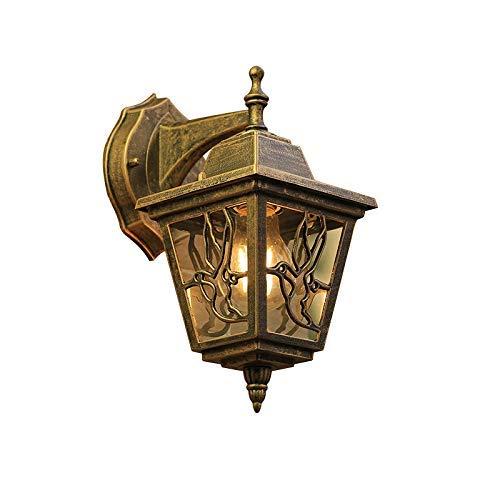 Eine Tür Curio (Mpotow Nortic Antique Curio Outdoor Wandlaterne Licht Villa Balkon Tür Wand Licht Landhaus Farmstead Wasserdichte Hängen Licht Europäischen Alley Außenwandleuchten Beleuchtung)
