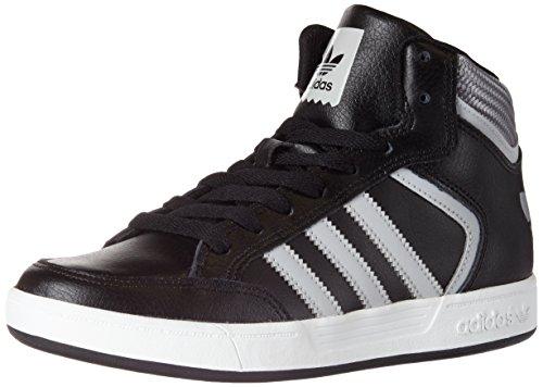 adidas Varial Mid, Baskets Hautes Mixte Adulte Noir (Core Black/Lgh Solid Grey/Ftwr White)