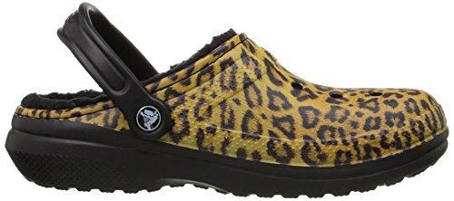 Crocs Schuhe Classic Lined Graphic Clog 203592 Black Espresso