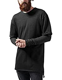 Urban Classics Long 2 In 1 Terry Crew, Sweat-Shirt Homme
