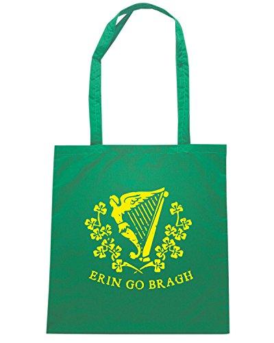 T-Shirtshock - Borsa Shopping TIR0049 erin go bragh dark tshirt Verde