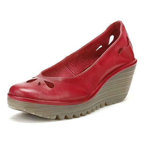 Fly London Femme Colmar Red Yern832fly Chaussures Colmar Red