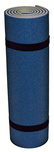 Isomatte, Camping, Outdoor, 200x55x1,2 cm, Fitness, Yoga, Pilates, Matte,2-lagig, Blau