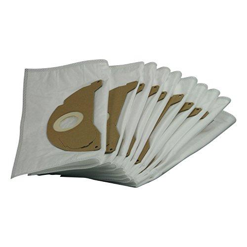 10x Staubsaugerbeutel Filtertüten für Staubsauger Kärcher A 2003 2004 2014 CV 2024 pt A 2054 Me Inox 2064 pt 2024 2074 pt -