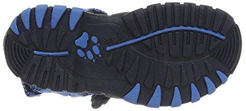 Jack Wolfskin Seven Seas, Sandali Esterni Unisex – Bambini Blu (Wave Blue)