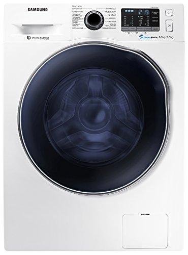 Samsung WD82J5400AW/EG Waschtrockner/A/1088 kWh/Jahr /1400 UpM/8 kg/17600 L/jahr/Digital Inverter Motor