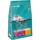 Purina ONE BIFENSIS Urinary Care Katzentrockenfutter: reich an Huhn & Weizen, für gesunde Harnwege, Nieren, Haut, schönes Fell, 6er Pack (6 x 1.5 kg)