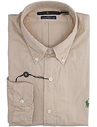Ralph Lauren Camicia Popeline Slim Fit Militare Mod. 710695886