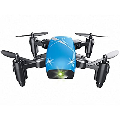 Hanbaili S9 Mini Foldable Pocket Drone With Camera Live Video?Altitude Hold Headless Mode One Key Return Fun Toy Gifts