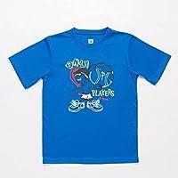 PROTON Camiseta Tenis Azul Niño (Talla: 14)