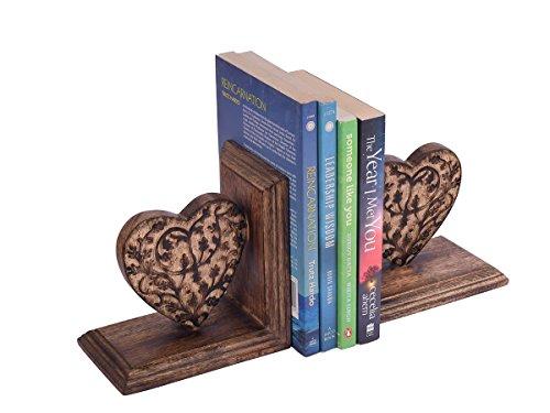 store-indya-lot-de-2-main-decoratif-sculpte-en-bois-de-mangue-avec-le-coeur-designs-terminer-livre-s