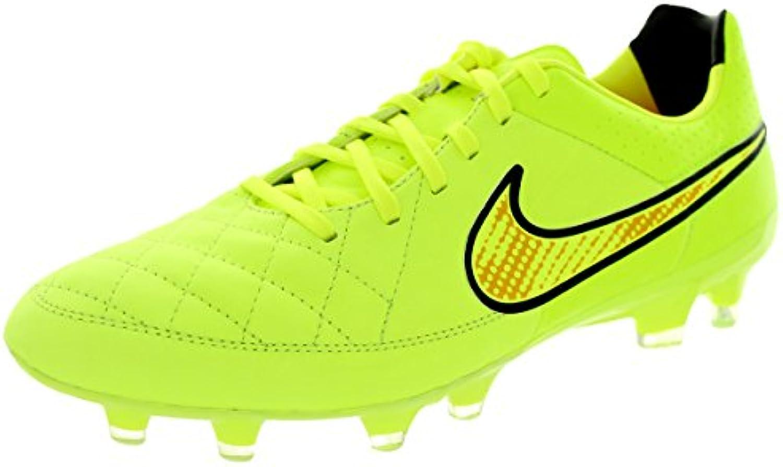 Nike Tiempo Legacy FG Fussballscarpe volt-volt-hyper punch-nero - 41 | Diversi stili e stili  | Uomini/Donne Scarpa