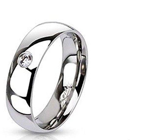 Emeco Edelstahl Ring Stainless Steel stein 6mm Breit R011-6-X, 61mm