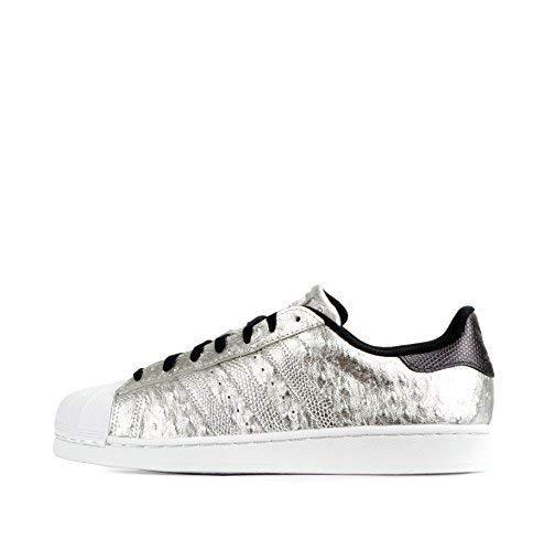 adidas originali superstar scarpe da ginnastica da uomo S31641 scarpe da tennis - SILVMT/SILVMT/FTWWHT AQ4701, 9.5 UK
