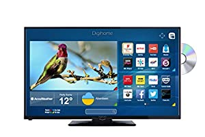 "Digihome 32HDDVDCNTD 32"" HD T2 smart LED TV/DVD combi"