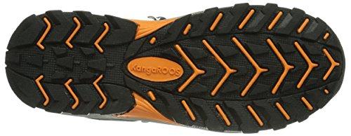 Kangaroos Kangaoutdoor 3016, Bottes mixte enfant Marron (Dk Brown/Orange Camo 379)