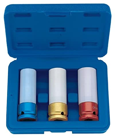 Draper 59080 1/2 inch Square Drive Wheel Nut Socket Set