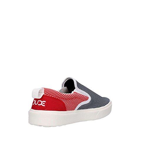 Hey Dude FLIP Slip On Herren Red & Blue Multi Colour