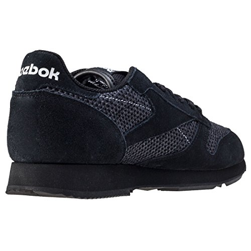Reebok CL Leather Knit Schuhe Black White