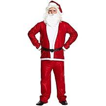 Lujo Adulto Papá Noel Navidad Disfraz XL talla grande
