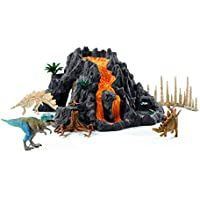 Schleich 42305 - Dinosaurs Giant Volcano with T-Rex