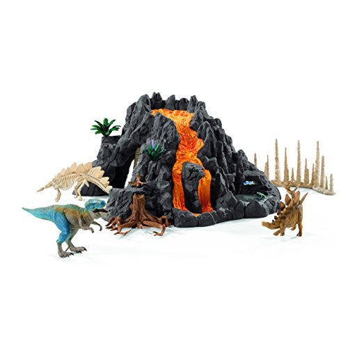 Dinosaurs 42305 Giant Volcano with T-Rex Figure