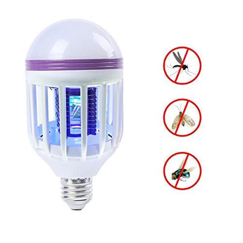 Mosquito Eliminator (LED Bug Zapper Glühbirne - Warmer weicher heller Indoor-Mückenmörder, Küchenfruchtfliegen Mörder, Mosquito Eliminator)