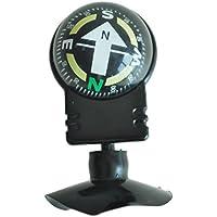 SODIAL(R) Brujula Brujula Compas Negro Plastico con Ventosa para Coche