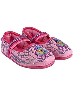 Cerdá Zapatillas pantufla bailarina Shimer and Shine color rosa