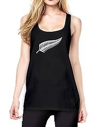 New Zealand Tanktop Girls Black Certified Freak