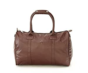 Mboss Leather 43 cms Brown Travel Duffle (TB008)