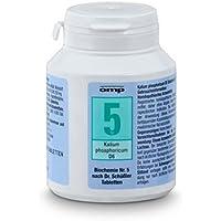 Schuessler Salz Nr. 5 Kalium phosphoricum D6 - 400 Tabletten, glutenfrei