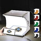 PULUZ 20cm Mini LED Fotografie Schattenlose Licht Lampe Panel Pad + Studio Schießen Zelt Box, Acryl Material
