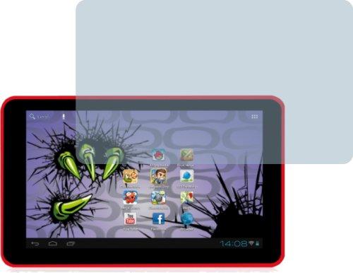 4ProTec I 2X Easypix MonsterPad EP770 Displayschutzfolie Bildschirmschutzfolie kristallklar
