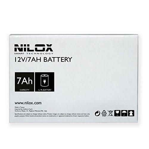 Nilox 17NXBA7A00001 Acido piombo (VRLA) 7Ah 12V batteria UPS