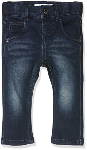 NAME IT Baby-Jungen Jeanshose Nittaban Slim Dnm Pant MZ Noos, Blau (Dark Denim), 92