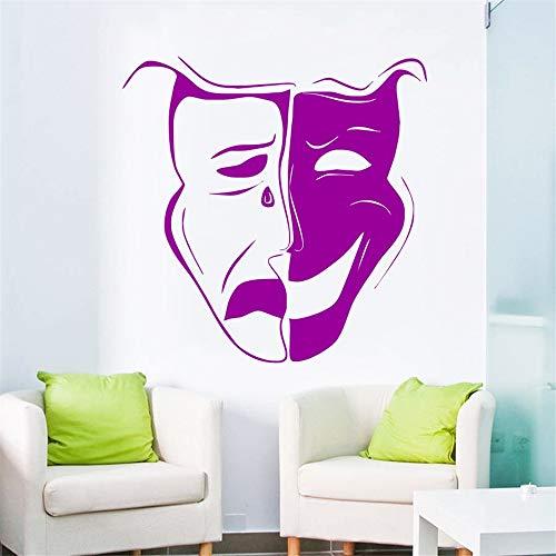 Ajcwhml Art Vinyl Wandaufkleber Art Design Wohnkultur Wand 71x112cm