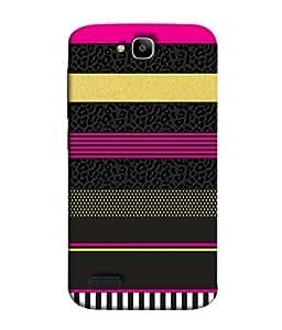 Fuson Designer Back Case Cover for Huawei Honor Holly (Love heart Girl Valentine Faith peace)