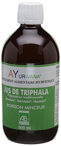 AYur-Vana Jus de Triphala Bio Flacon de 500 ml