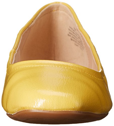 Nine West Girlsnite Ballet Synthetic Flat yellow