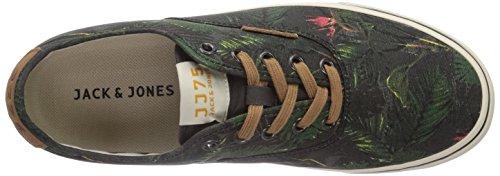Bassi Cestini Homme Fiore nero Mehrfarbig Jack Multicolore Jjsurf Tela Jones Sneaker Nero wU0gCqU