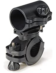 Dcolor 360¡ã Rotation Cyclisme Bicyclette Velo Lampe Torche Support de Fixation Porte Pince