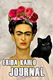 Frida Kahlo Journal: A cool colorful, creative, Frida Kahlo journal. Ideal for those who love art and find inspiration through her, to write their creative selves into these pages.