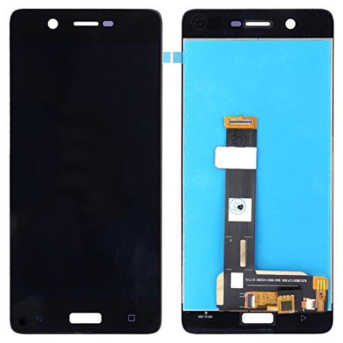 MOBILTELEFONZUBEHÖR FÜR Elektronik PZ Screen + Touch Panel für Nokia 5 LCD (Schwarz) (Farbe : Black) -