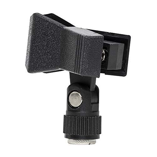 Stagg 16132 Mikrofonklemme (13-28 mm Durchmesser, Gewinde-Adapter) schwarz