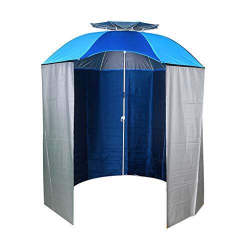Ombrellone da parasole con parasole per ombrellone, parasole esterno, regolabile staccabile, quattro stagioni universale (blu) (color : blue)