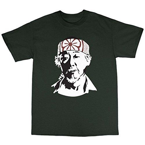 Mr Miyagi T-Shirt Baumwolle Waldgrün