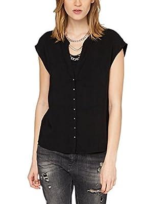 s.Oliver Denim Women's 41.504.12.7219 Short Sleeve Blouse