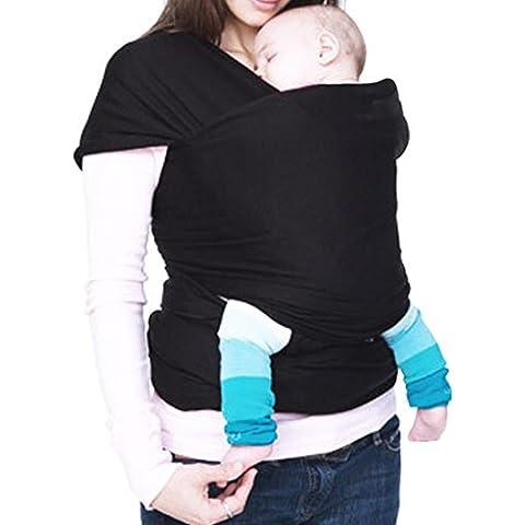 Dan Speed morbido, luce Baby Carrier Compatto e comodo–Wraps puro cotone/Spandex per allattamento adatto per neonati a 35kg Nizza Baby doccia articolo